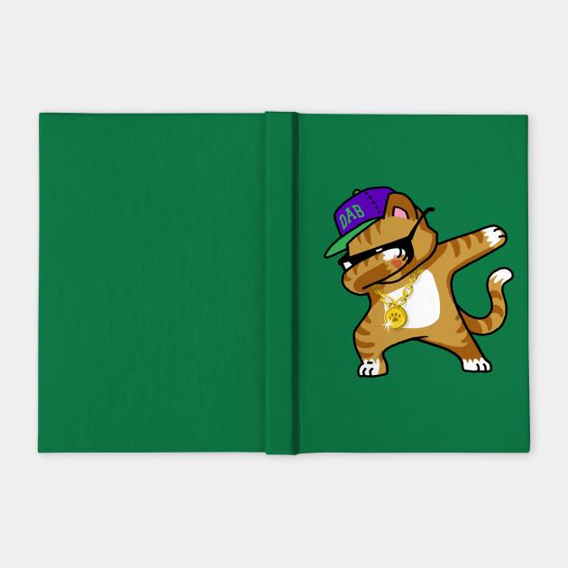 Dabbing Cat Funny Shirt Dab Hip Hop Dabbing Kitten