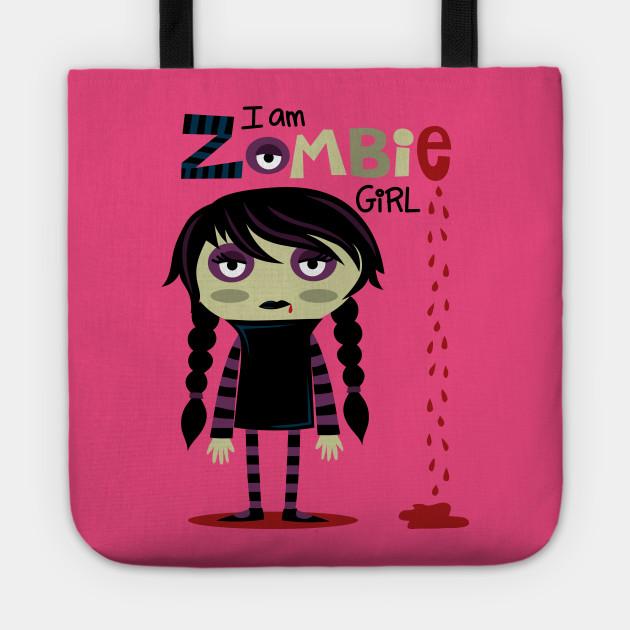 Zombie little girl