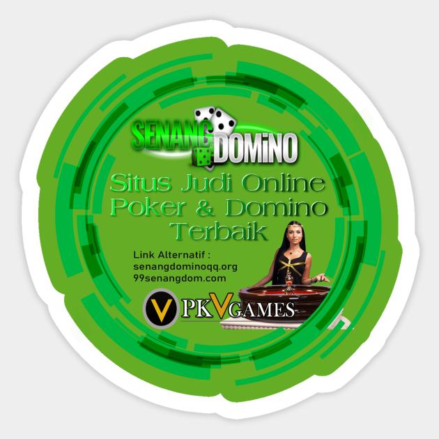 Senangdomino Situs Judi Online Poker Online Domino Qq Senangdomino Aufkleber Teepublic De