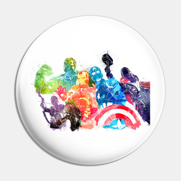 Avengers Watercolor