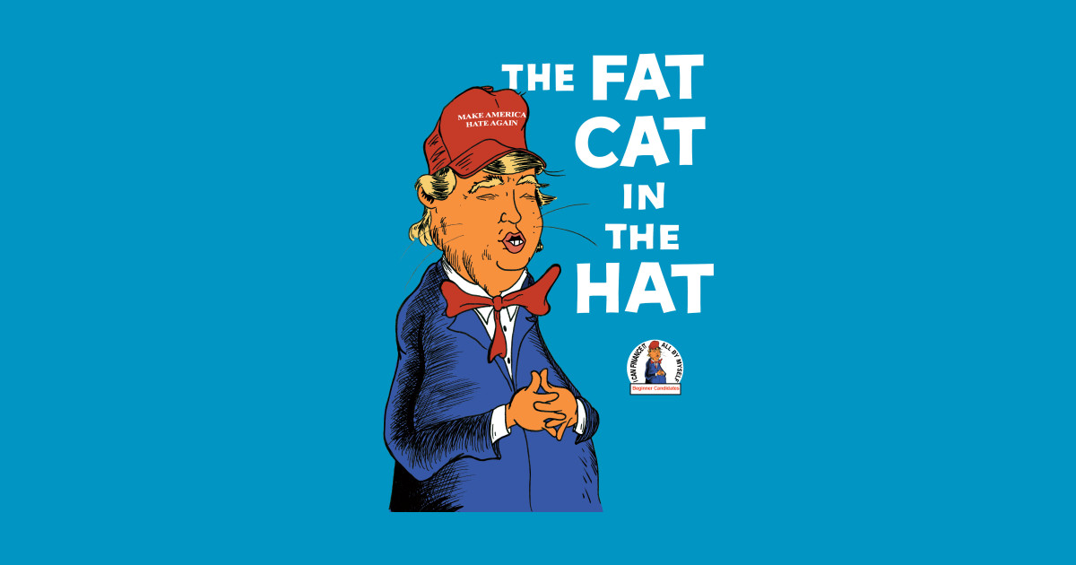 The Cat In A Hat With A Baseball Hat