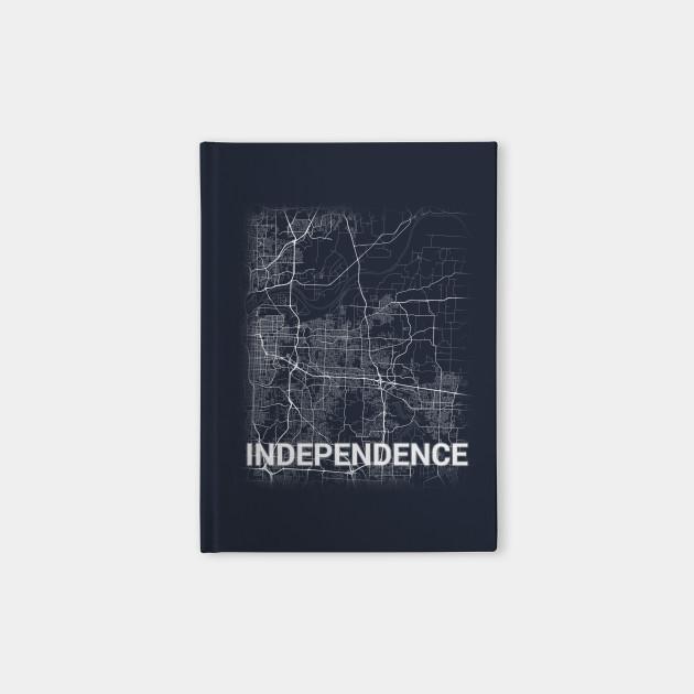 Independence US Missouri City Map