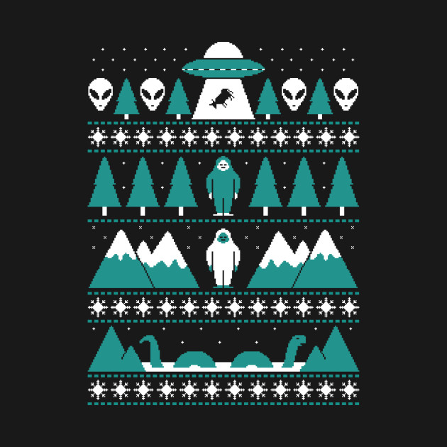 Paranormal Christmas Sweater T-Shirt