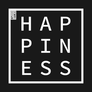 HAPPINESS Define Me Word Simple Classic Square Box t-shirts