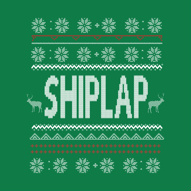 Shiplap Ugly Christmas Sweater