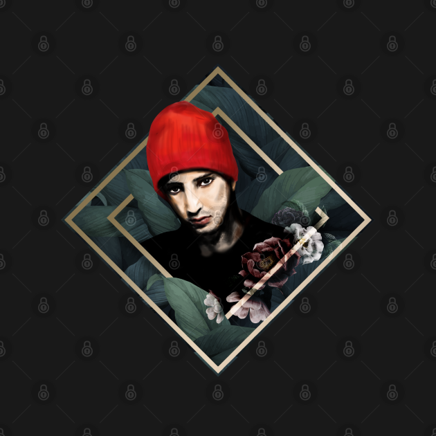 TyJo in Red Beanie Art