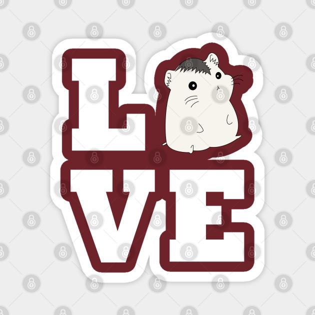 Roborovski Hamster Love