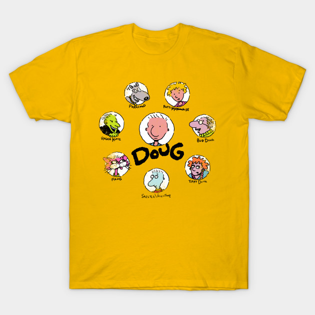 c48322dc Mr. Funnie - Doug - T-Shirt   TeePublic