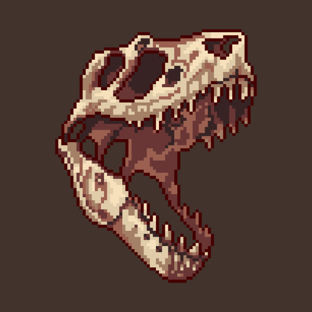 Tiny T-Rex skull