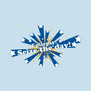 Epilepsy: Seize the Day t-shirts