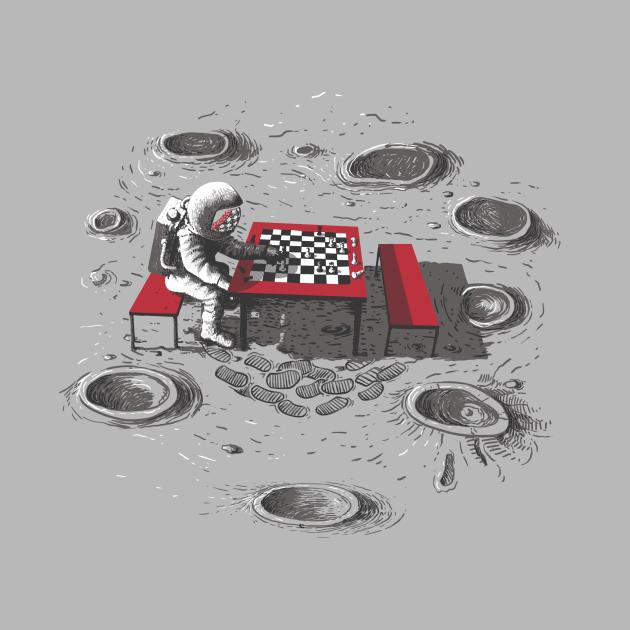 Chesstronaut