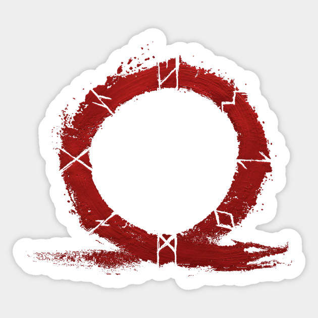 God of War PS4 - Omega Symbol - God Of War - Sticker ...