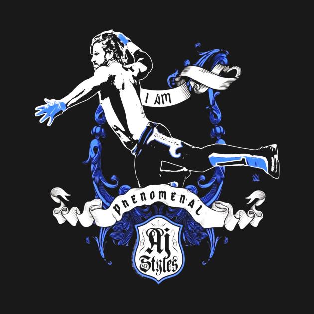 Wwe I Am Phenomenal Aj Styles Flying Elbow Thanksgiving T Shirt