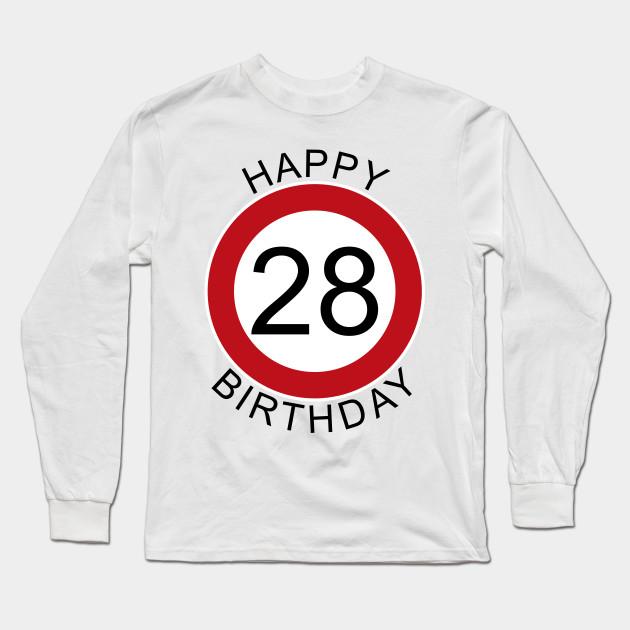 Zum 28 Geburtstag Alles Liebe Gute Gesundheit Gluck