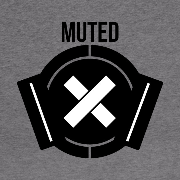 Muted (Black)