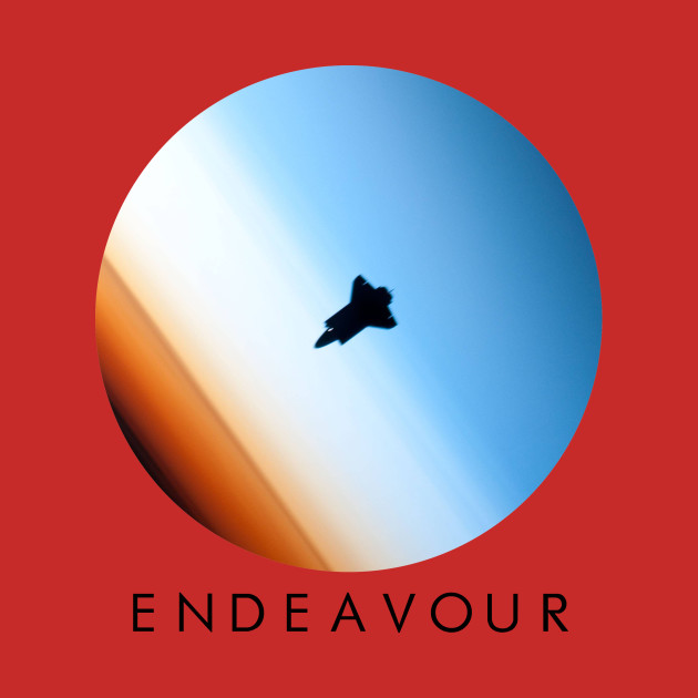 Endeavour - Black Text