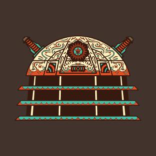 Dia de los Daleks t-shirts