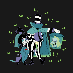 Hatbox Ghost With The Most t-shirts