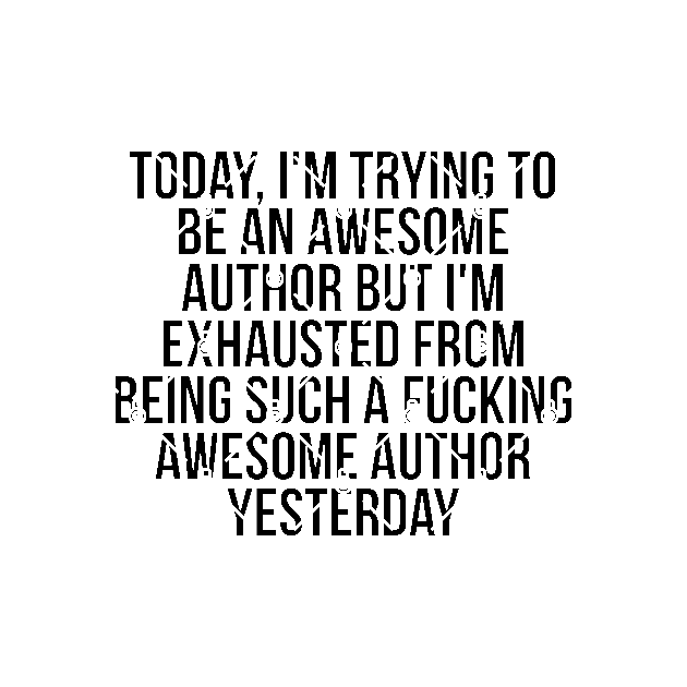 Fkn awesome author