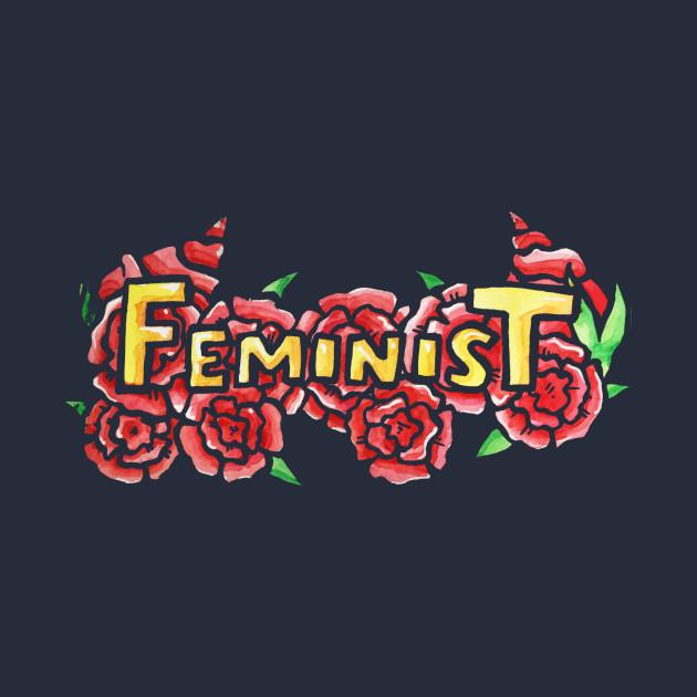 Feminist Floral Art