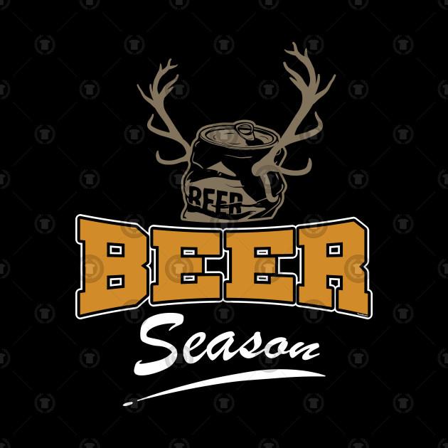 Beer Season Funny Deer Hunter Gift