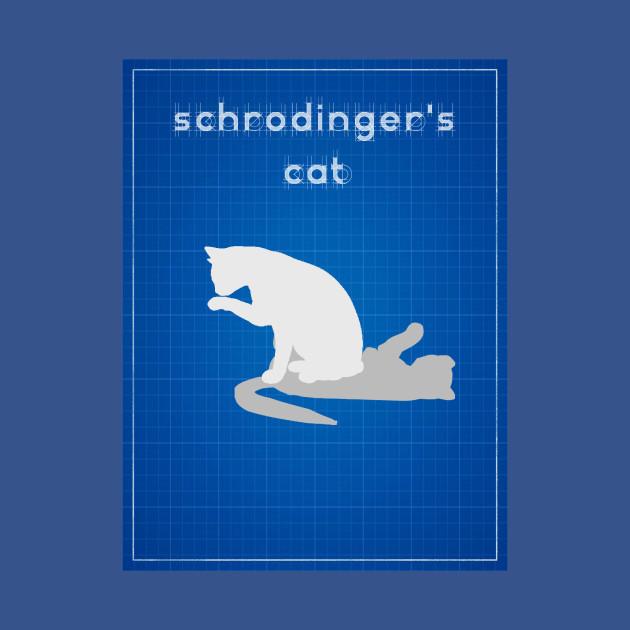 Schrodinger's Cat - Cat - T-Shirt | TeePublic
