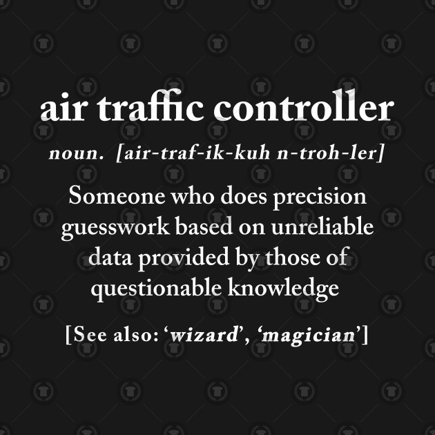 Air Traffic Controller Definition Meaning Funny Gift