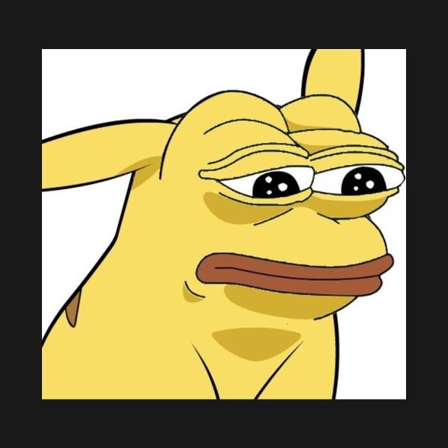 Pikachu Pepe Frog Hoodie Teepublic