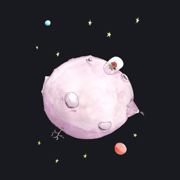 The Little Prince's planet