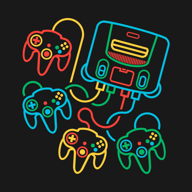 Super64 (4 Controller Version)