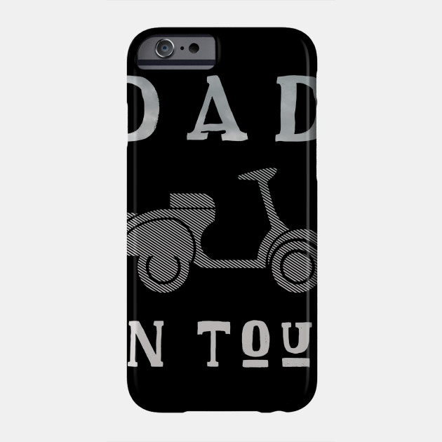 Dad on Tour Father Motorbike Biker Father's idea Phone Case