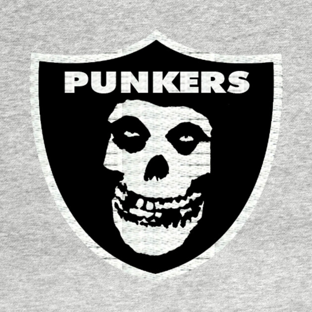PUNKERS RAIDERS T-SHIRTS MISFITS DESING PATCH