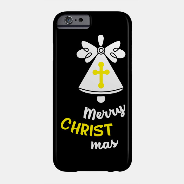 Merry Christ mas Christmas Holiday Party Religion Jesus Christmas Bible Faith Gift Phone Case
