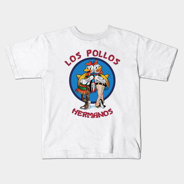 Los Pollos Hermanos T-Shirt breaking vamonos bad heisenberg white walter pest