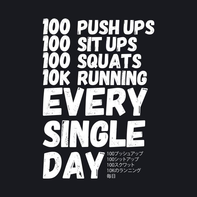 Saitama Workout Routine
