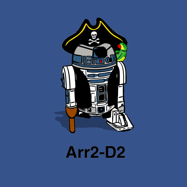 Pirate Droid - Arr2-D2