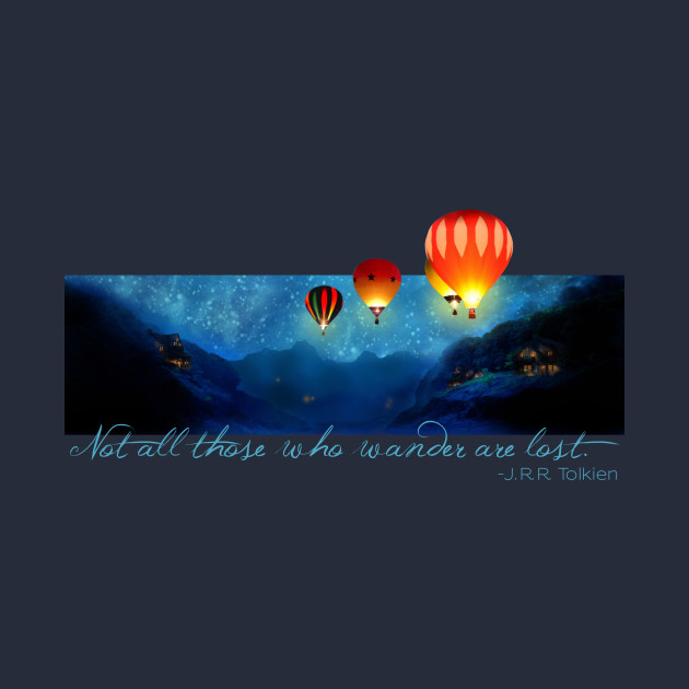 Hot Air Balloons - Ballooning on a Starry Night