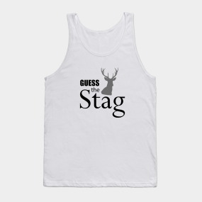 2474377e7 Guess the stag Mens Stag do weekend party night id Tank Top