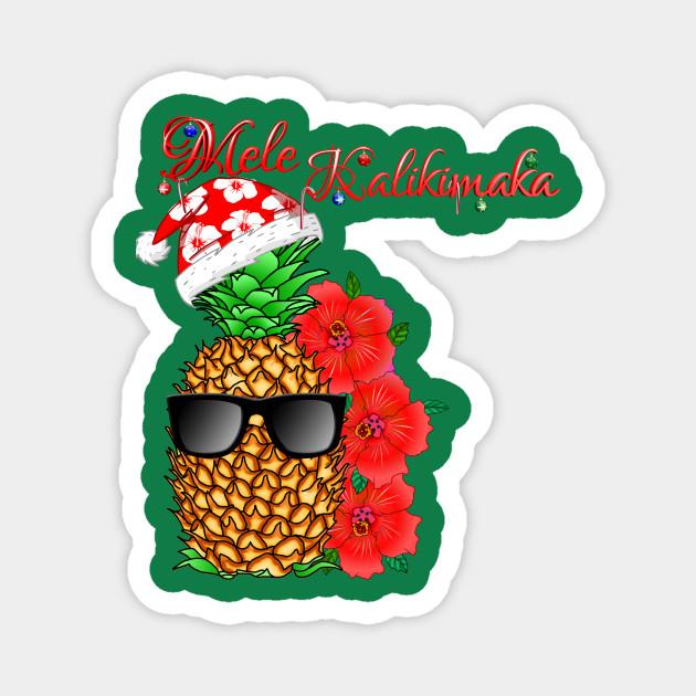 Mele Kalikimaka Hawaiian Merry