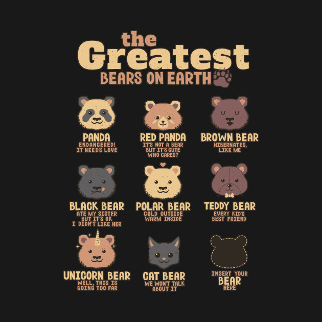Greatest Bears Insert your Bear