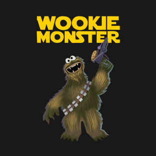 W is for Wookie t-shirts