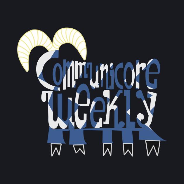 Communicore Weekly Five Legged Goat Logo