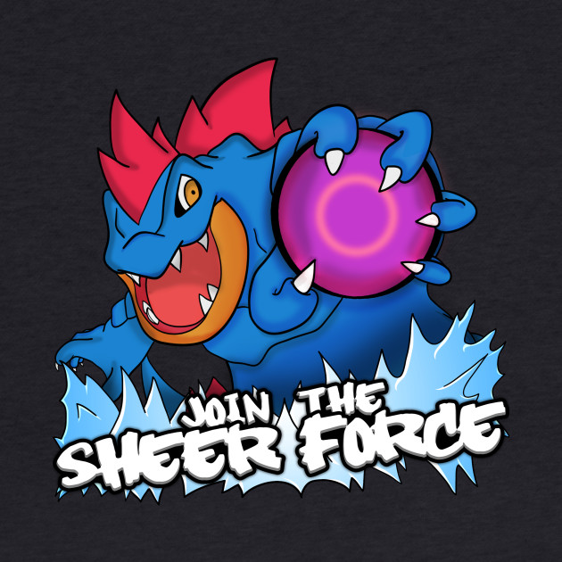 "Official ""Join the Sheer Force"" T-Shirts by Hydros!"