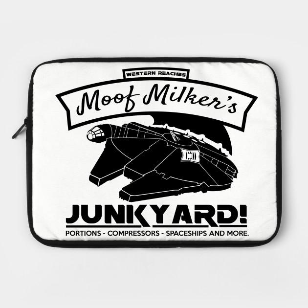 moof milker star wars laptop case teepublic