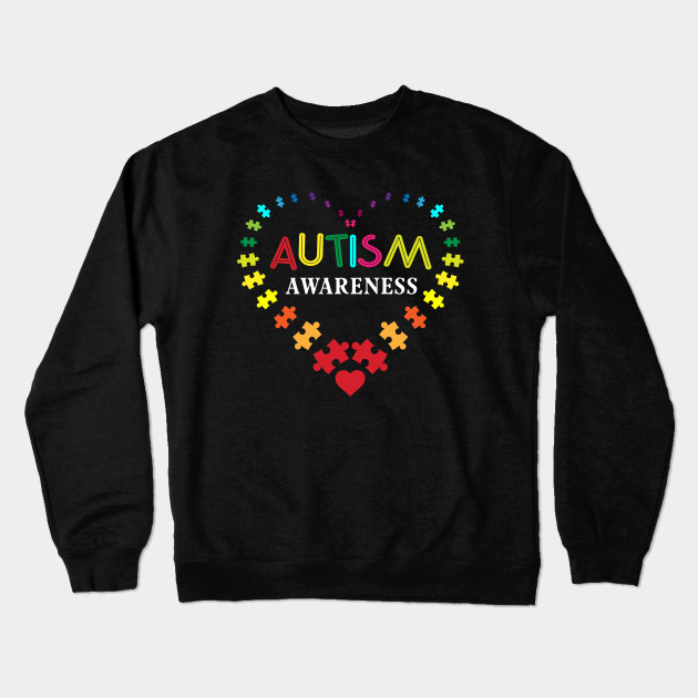 101f51e76 World Autism Awareness 2 April 2019 Shirt Autism Cute Shirt Crewneck  Sweatshirt