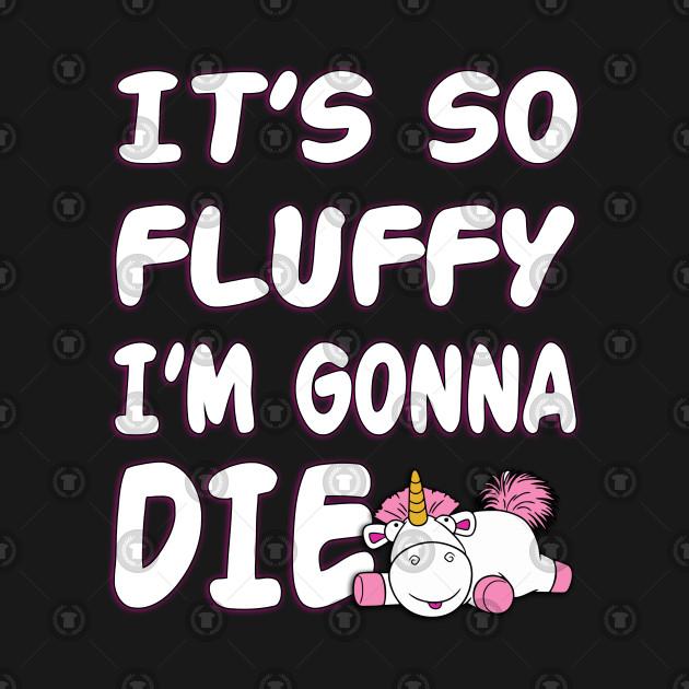 9e619a693 ... It's So Fluffy Unicorn Graphic T-Shirt Despicable Me Minions Agnes shirt