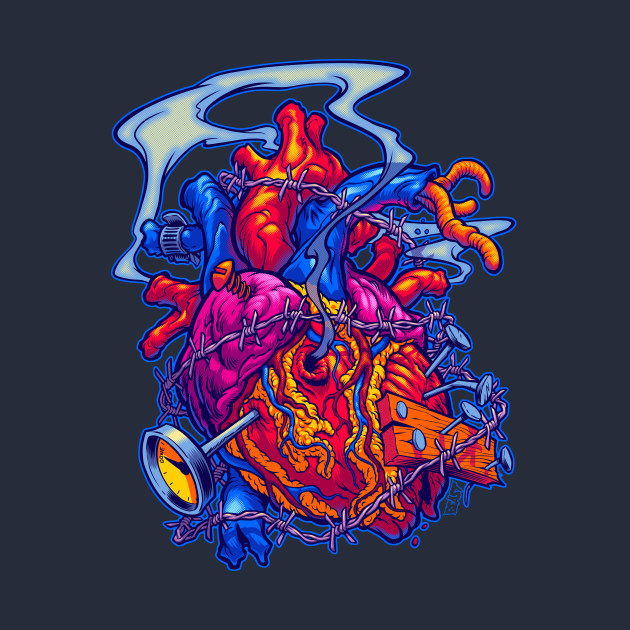 Busted Heart T-Shirt