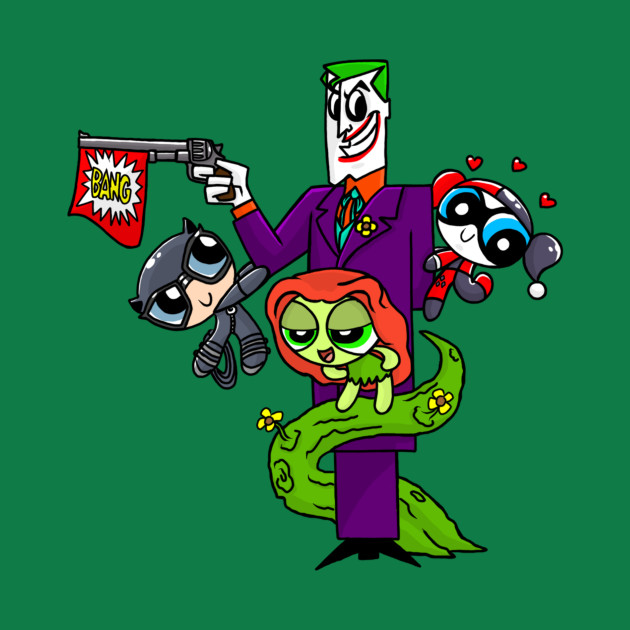 Power Puff Gotham Villains