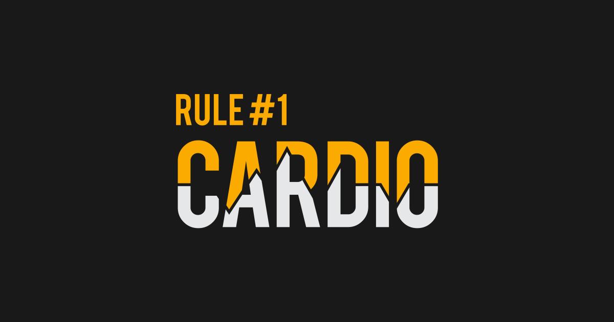 Zombieland Rule 1 Cardio Helloween Notebook Teepublic