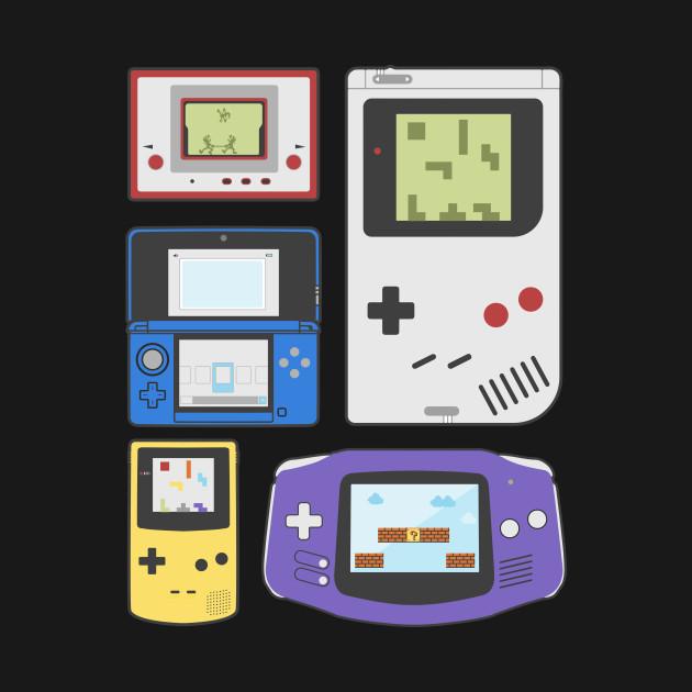 Handhelds Past